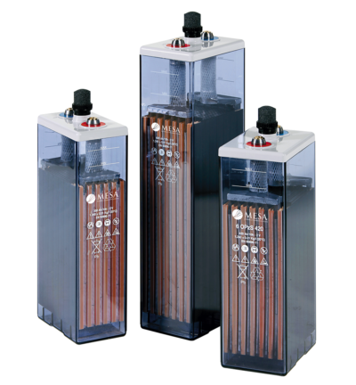 OPzS - Lead Selenium Tubular Plate Stationary Batteries